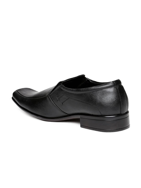 myntra fortune black formal shoes 208332 buy myntra