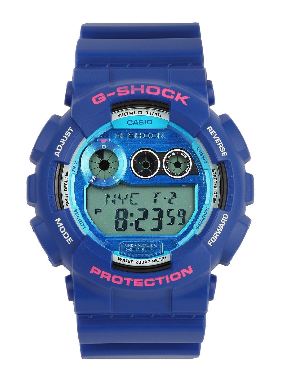 myntra casio g shock blue digital g504 338667