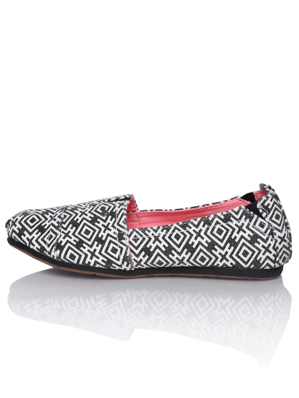 Mad Love Black Slip On Shoes
