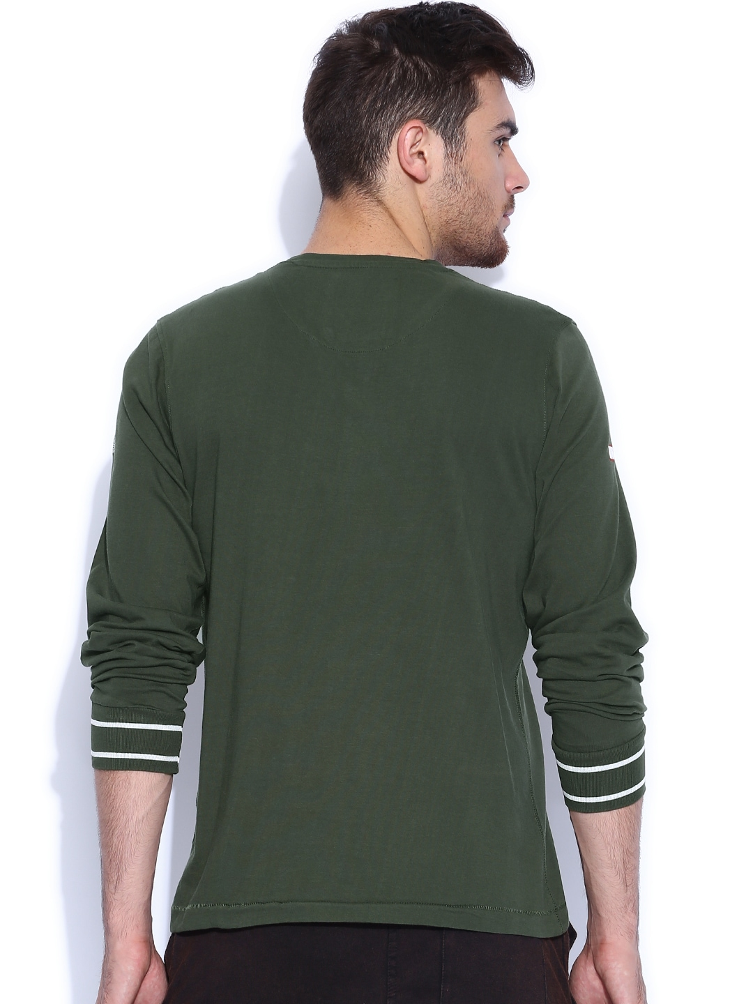 Find green henley shirt at ShopStyle. Shop the latest collection of green henley shirt from the most popular stores - all in one place.