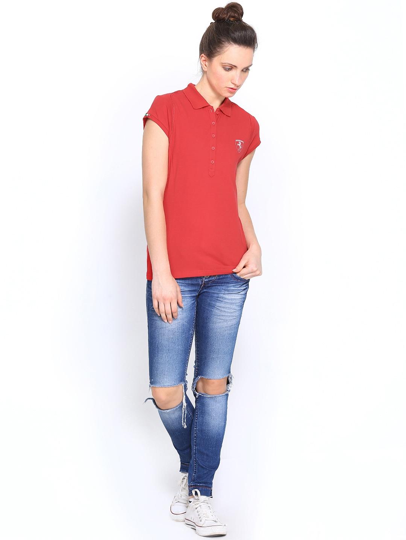 puma ferrari polo shirt mujer 2015