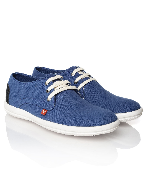 myntra provogue blue canvas shoes 443999 buy myntra