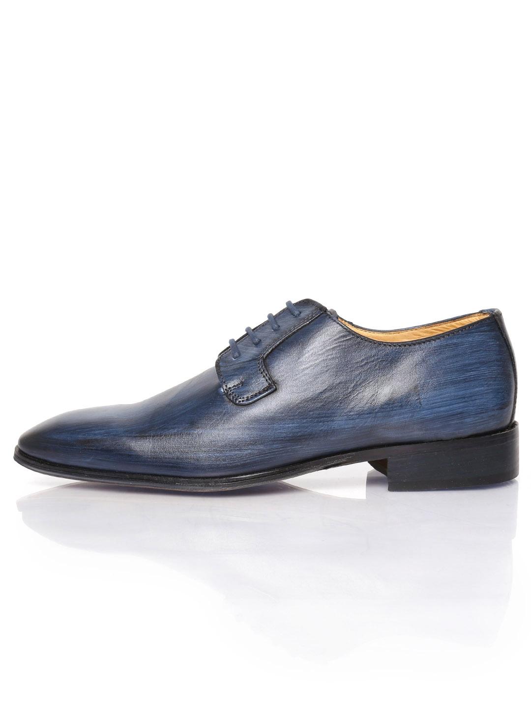 myntra alberto torresi navy leather formal shoes