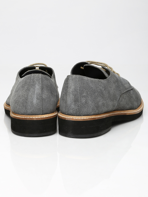 myntra invictus forma prime grey suede formal shoes