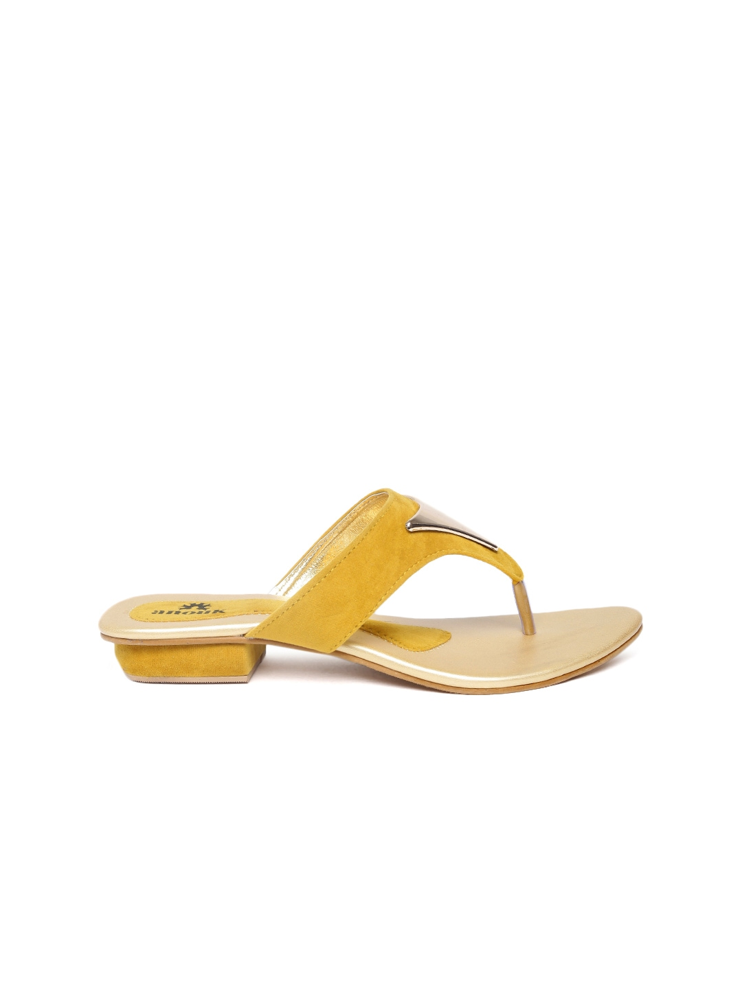 Yellow Mustard Flat Shoes