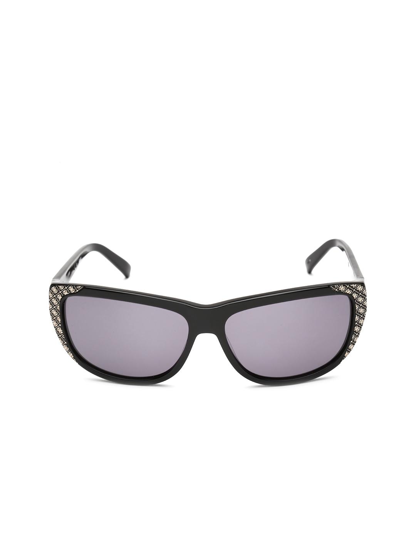 e7cae5440f Myntra GUESS Women Sunglasses S7116 BLK35 571952