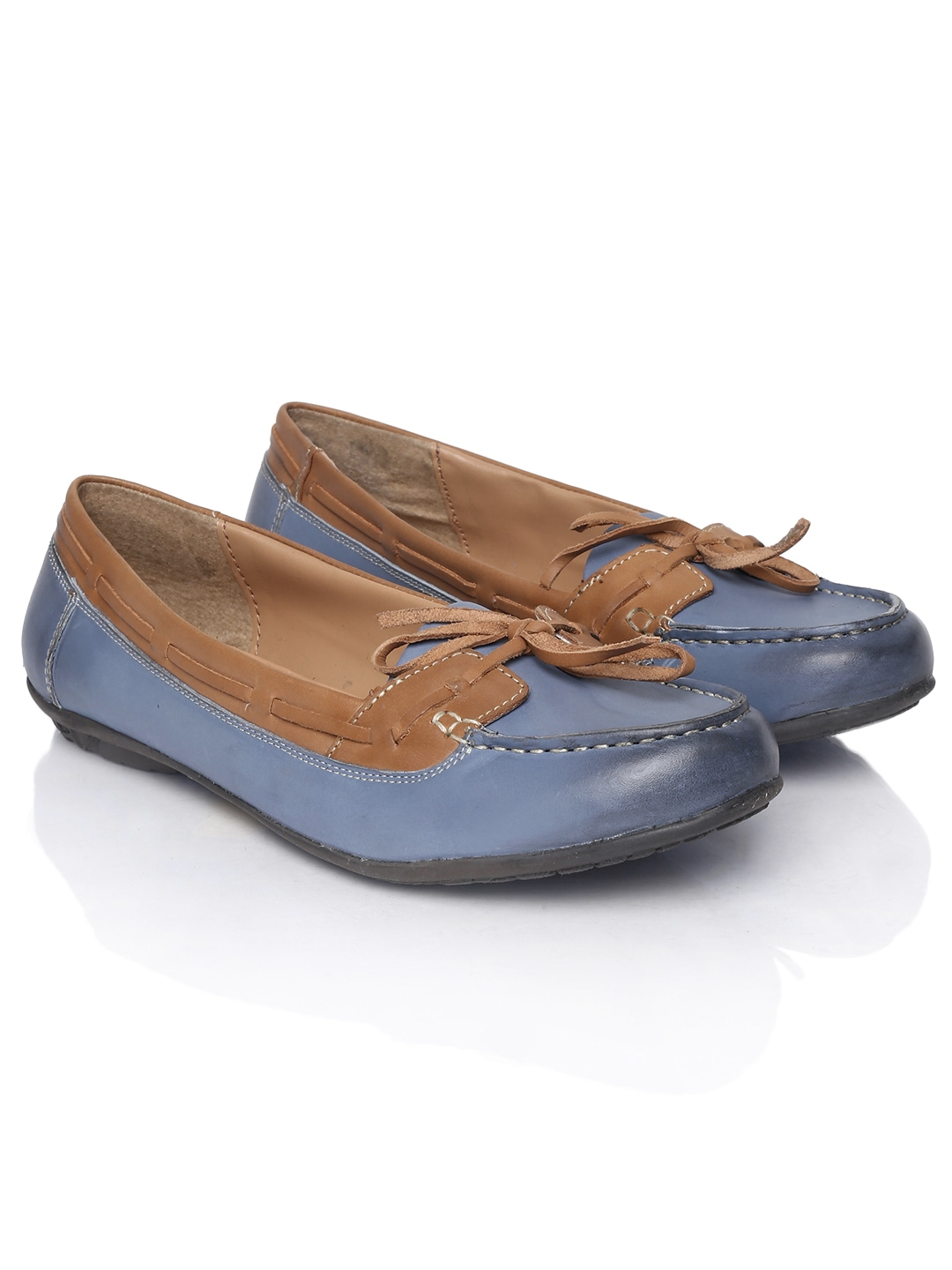 Hush Puppies Leather Boat Shoes