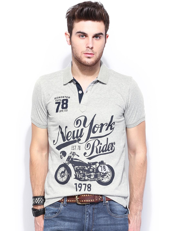 polo printed t shirts