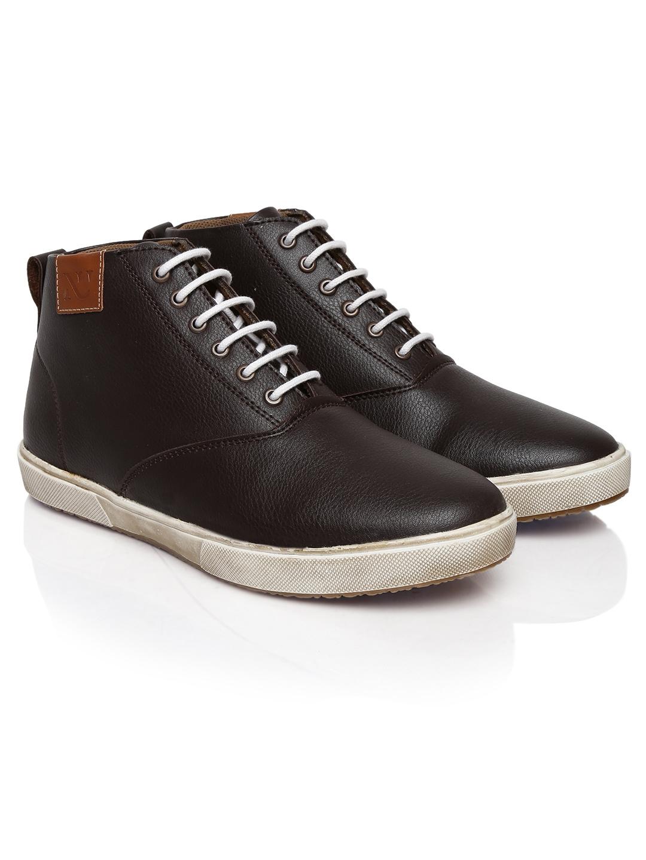 myntra numero uno brown casual shoes 592735 buy