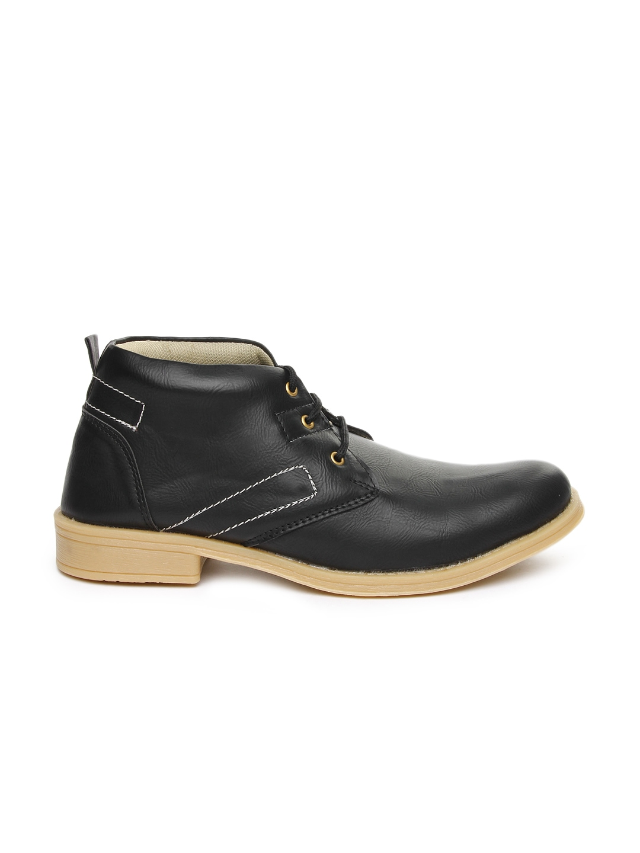 myntra arthur black casual shoes 598768 buy myntra