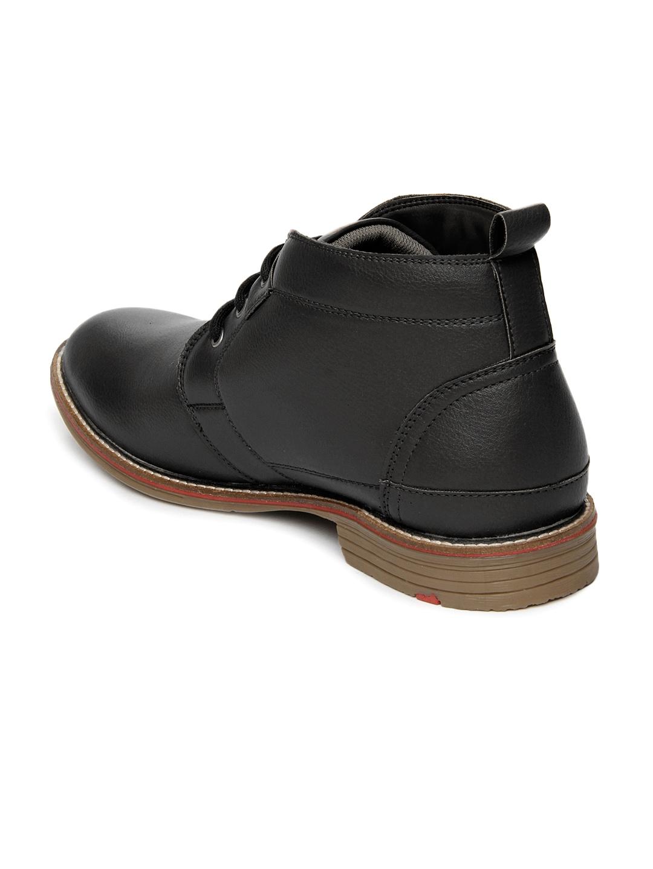myntra arthur black casual shoes 598788 buy myntra