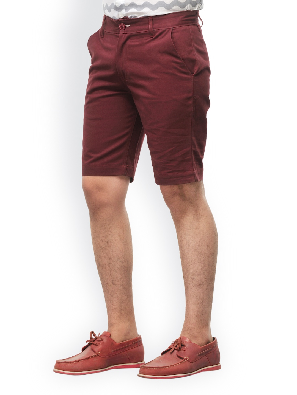 Myntra haute couture men maroon shorts 608207 buy myntra for Haute couture men
