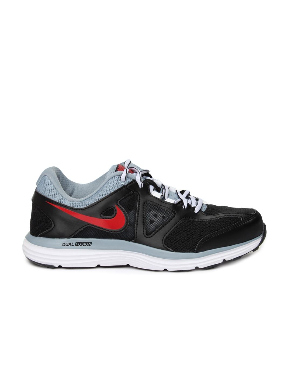 Nike Dual Fusion Lite  Msl Black Running Shoes