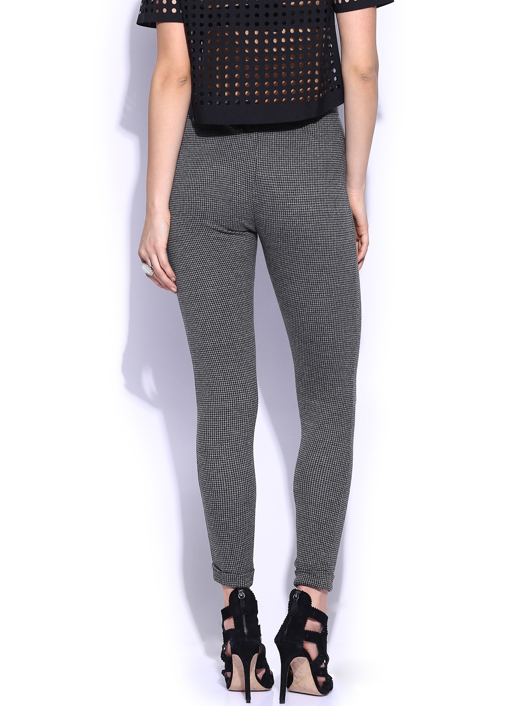Leggings by New Look, A wardrobe staple, High-rise waist, Elasticated waistband, Bodycon fit, Holds you close. Transforming the coolest looks straight from the catwalk into wardrobe staples, New Look joins the ASOS round up of great British high street brands.