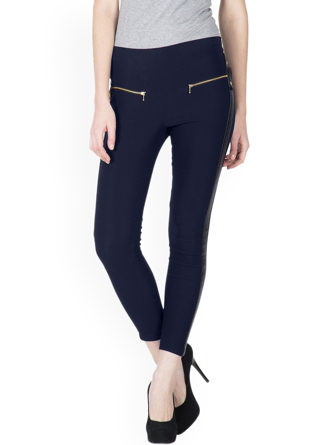 Shop for trendy, denim, colourful jeggings online for women in India at Myntra. Free Shipping 30 Day Returns COD available. Buy wide range of ladies jeggings, denim jeggings, cotton jeggings & stylish jeggings in lots of colours at best price at Myntra, the best online shopping site in India.
