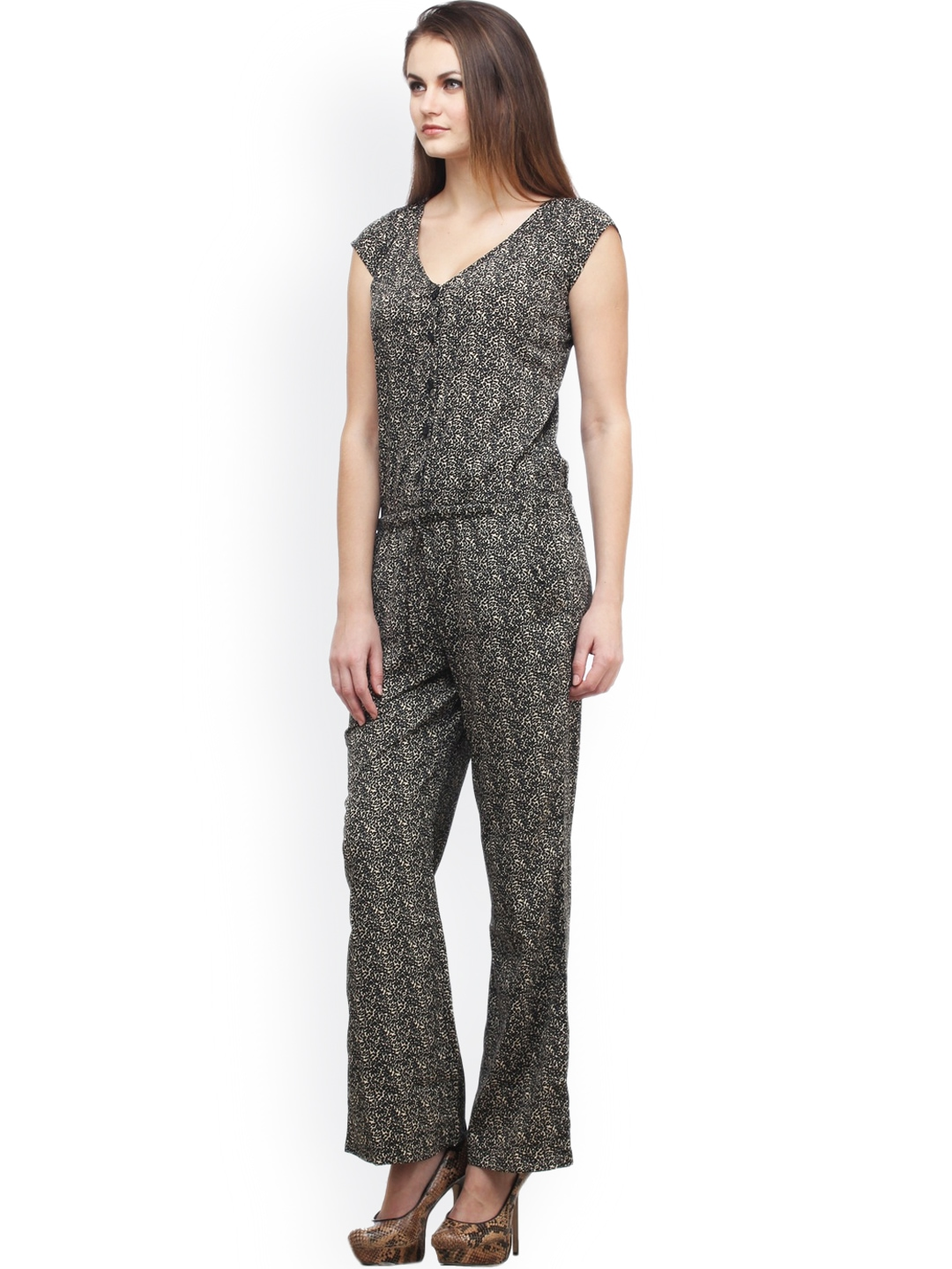 Perfect Buy Cottinfab Women39s Printed Jumpsuit DSS119G Online India  3421501