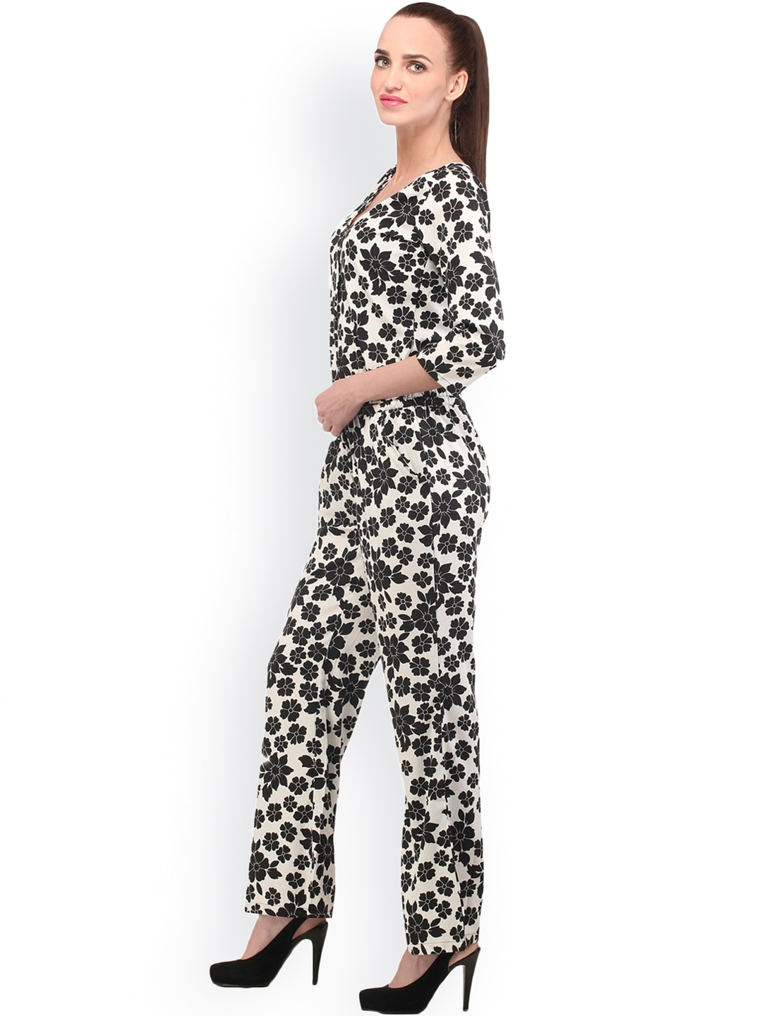 Perfect Cottinfab Women Brown Printed Jumpsuit 779902  Buy Myntra Cottinfab