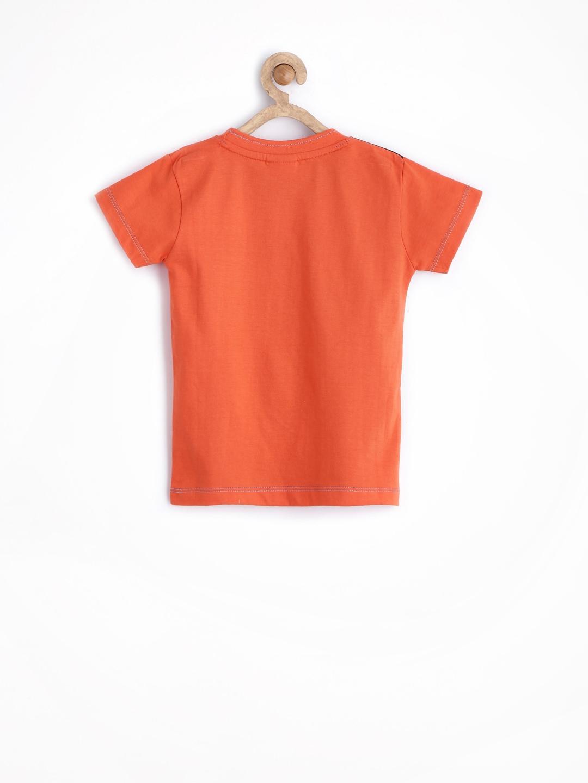 Myntra ufo boys orange printed t shirt 628814 buy myntra for Boys printed t shirts