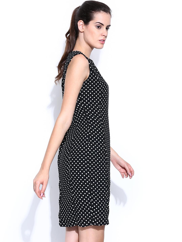 Brilliant Van Heusen Woman Dresses Van Heusen Black Dress For Women At Trendin