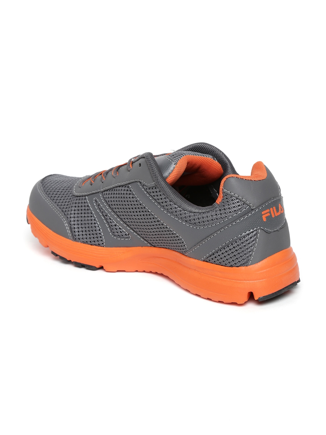 myntra fila grey run away sports shoes 638136 buy