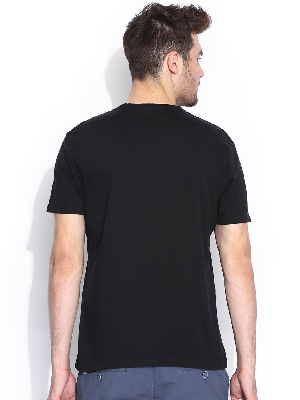 Myntra Vans Unisex Black Printed T Shirt 647951 Buy
