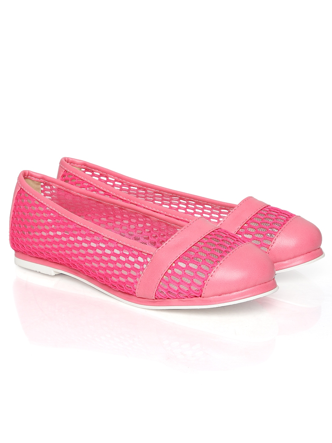 myntra dressberry pink flat shoes 648617 buy