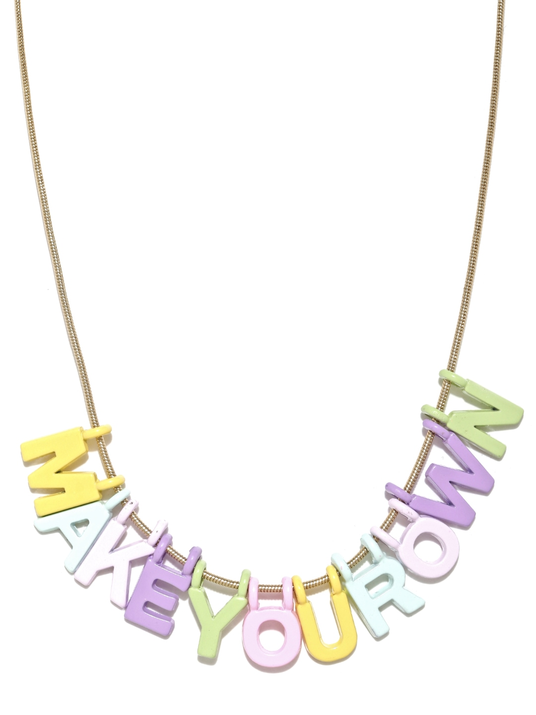 how to make my own necklace