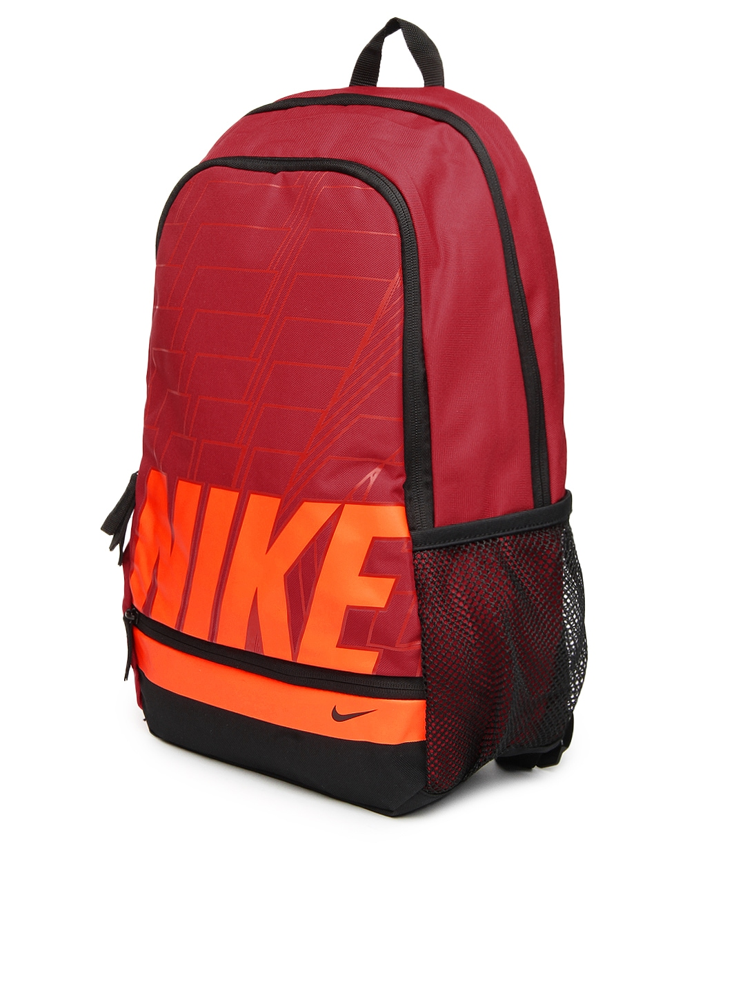 Myntra Nike Unisex Red Classic North Backpack 654420 Buy
