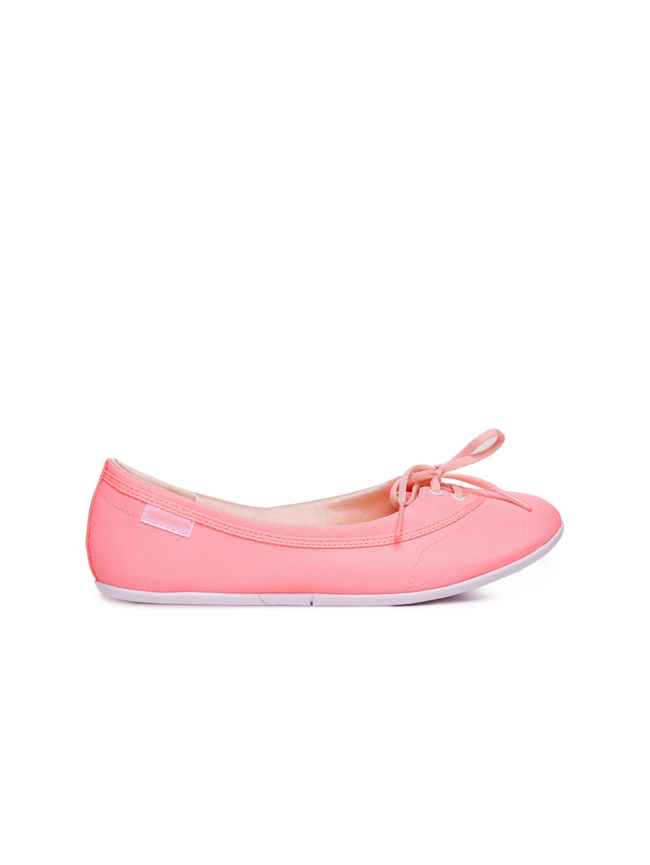 myntra adidas neo neon pink flat shoes 655767 buy