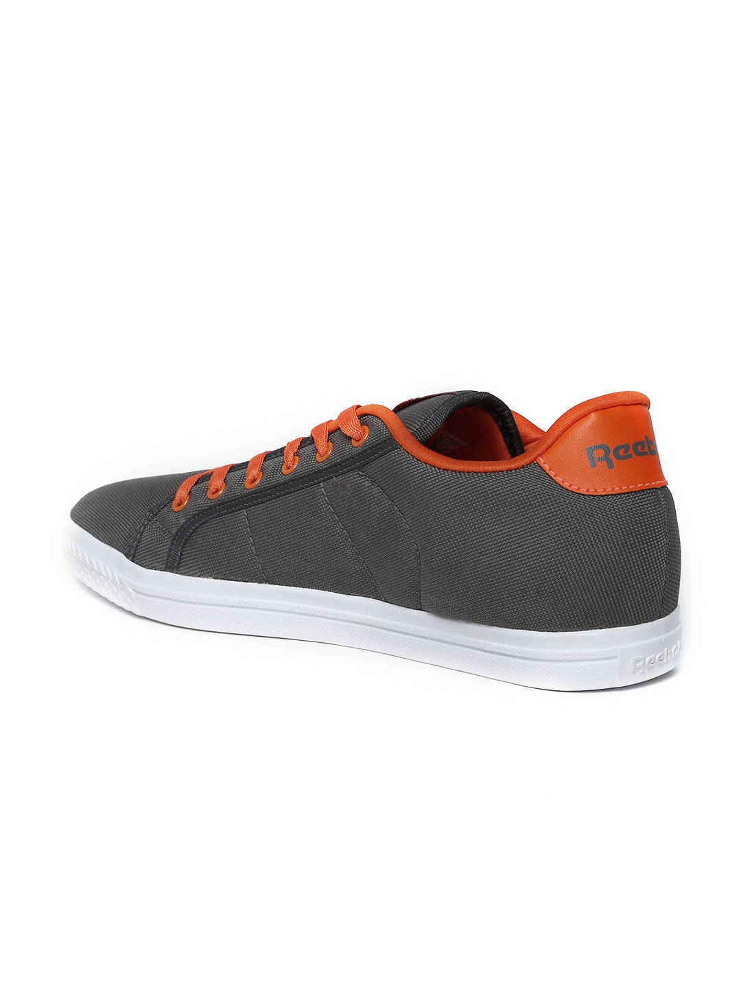 myntra reebok classic on court iv lp grey casual shoes