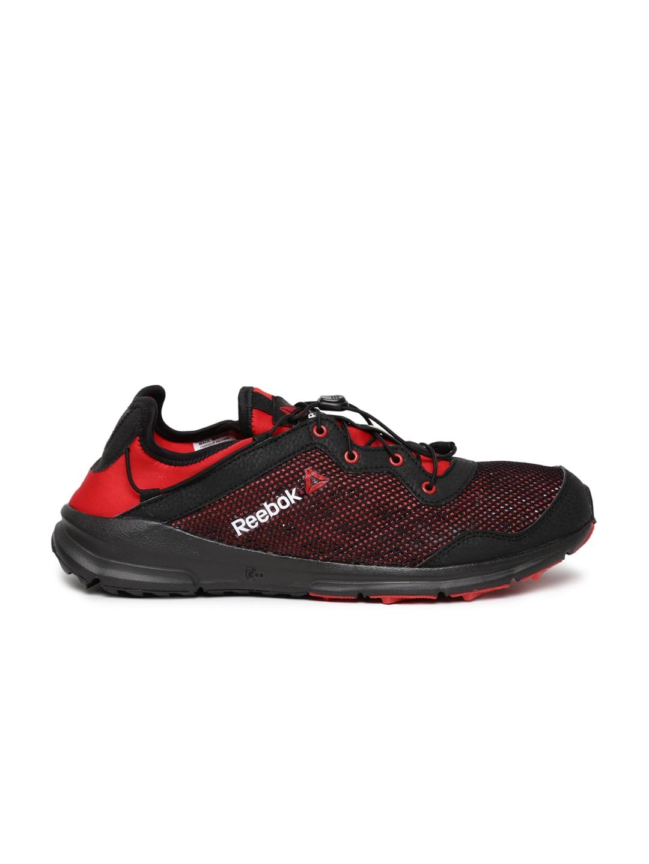 myntra reebok black one sports shoes 655868