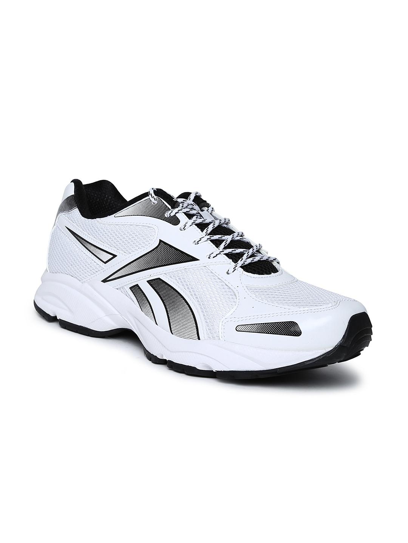 myntra reebok white united runner 5 0 lp running shoes