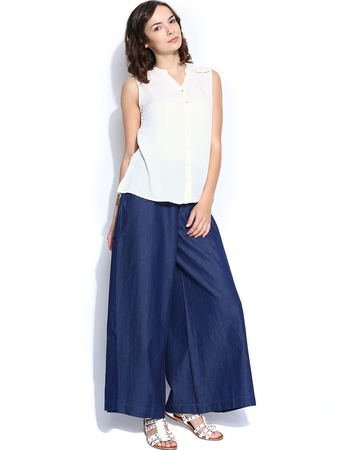 Myntra mineral women off white shirt 660087 buy myntra for Shirts online shopping lowest price