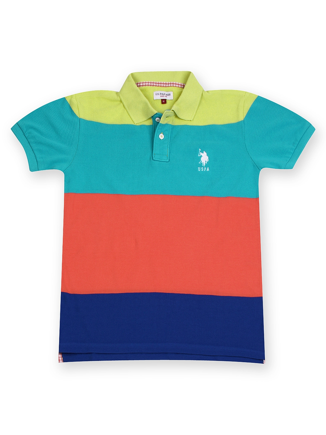 Myntra U S Polo Assn Kids Boys Multicoloured Polo T