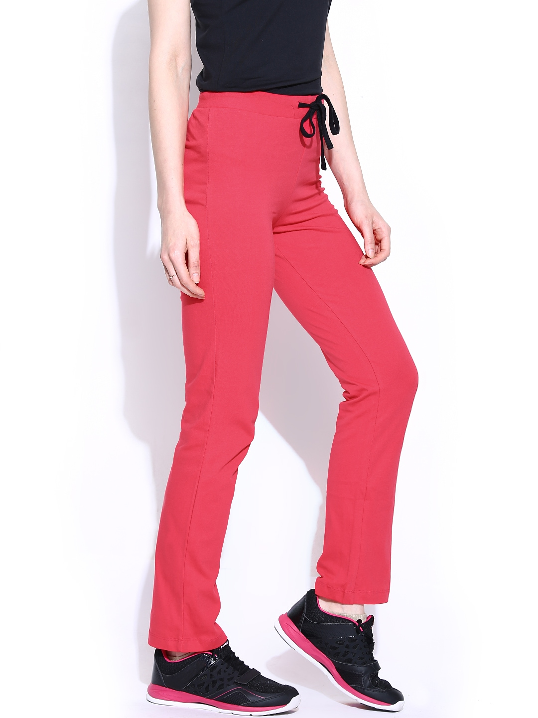 Unique Women Black Track Pants 663328  Buy Myntra Style Quotient Track Pants