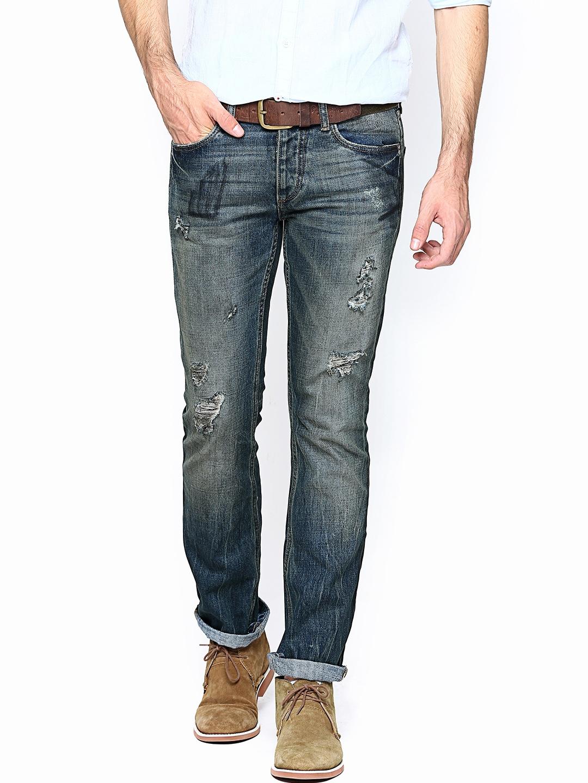 myntra jack jones men blue jeans 663084 buy myntra. Black Bedroom Furniture Sets. Home Design Ideas