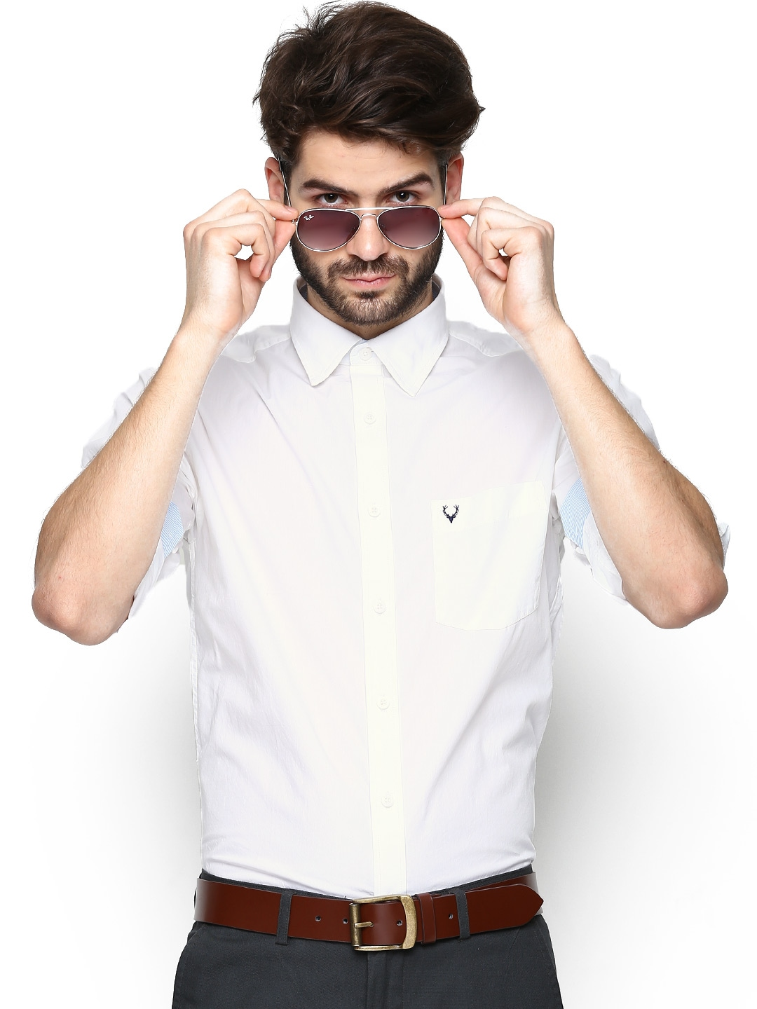White Party Shirts For Men