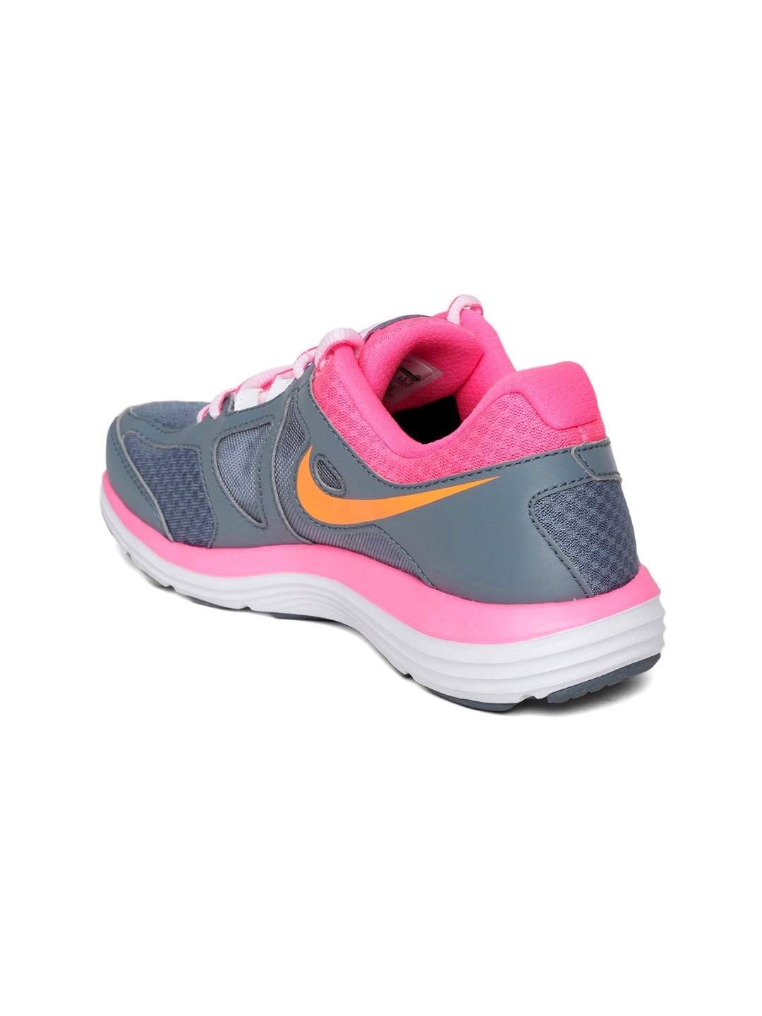 myntra nike women grey dual fusion lite 2 msl sports shoes 672697 buy myntra nike sports shoes. Black Bedroom Furniture Sets. Home Design Ideas
