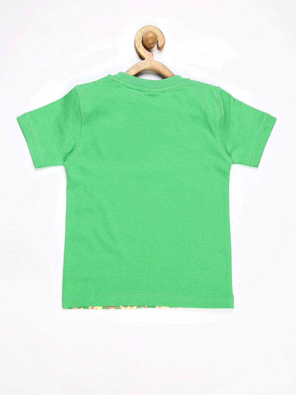 Myntra motu patlu boys green printed t shirt 673729 buy for Boys printed t shirts