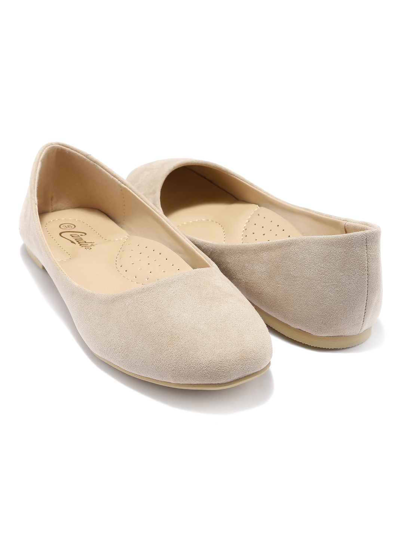Beige Flat Shoes Uk