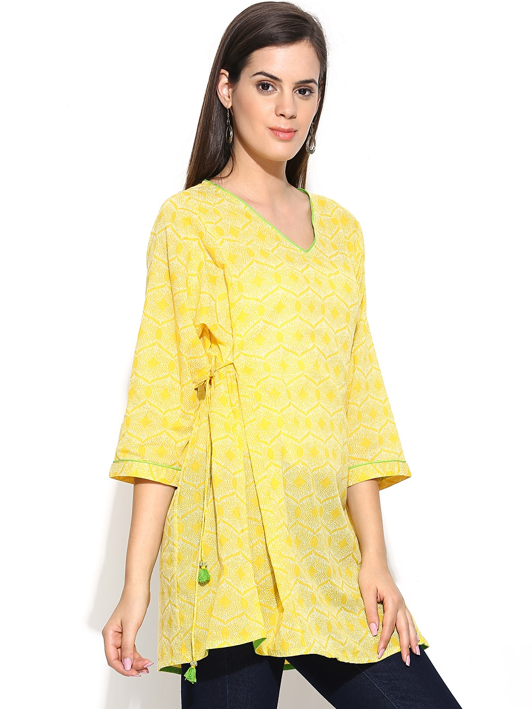 yellow tunic - up to 70% off. Well, darn. This item just sold out. Select notify me & we'll tell you when it's back in stock.