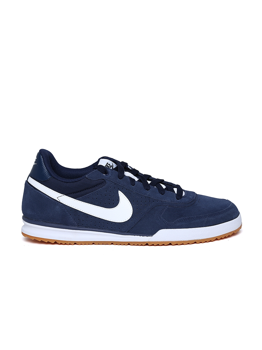 myntra nike navy field trainer suede casual shoes