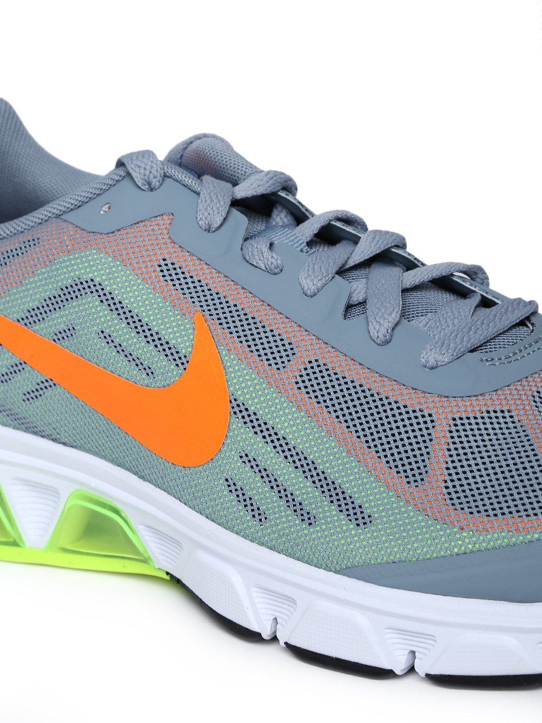 myntra nike grey air max boldspeed running shoes