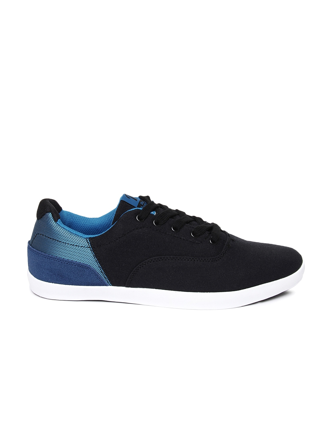 myntra roadster black blue casual shoes 678646 buy