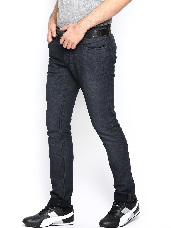 myntra jack jones men navy jeans 679644 buy myntra. Black Bedroom Furniture Sets. Home Design Ideas