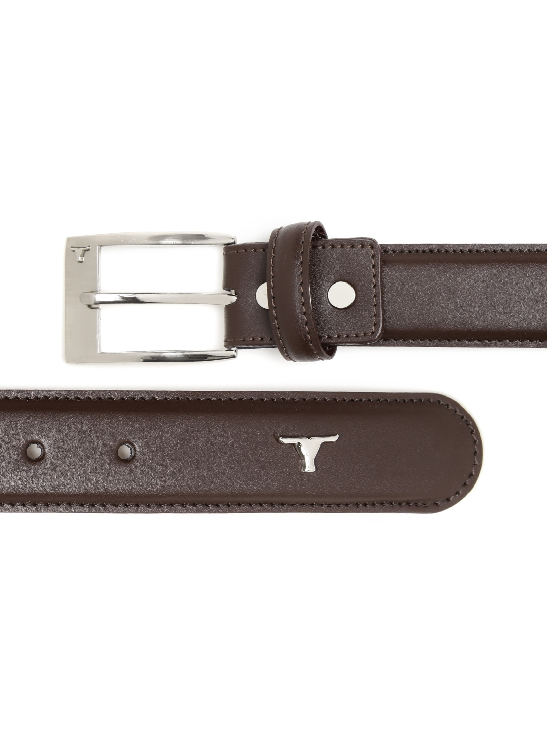 Myntra BULCHEE Men Brown Leather Belt 680488