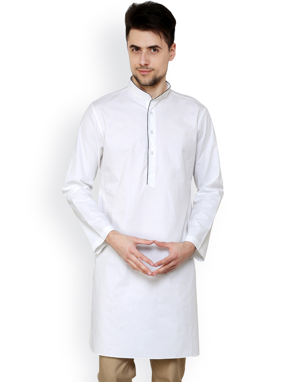 Myntra see designs men white kurta 681875 buy myntra see for Myntra t shirt design