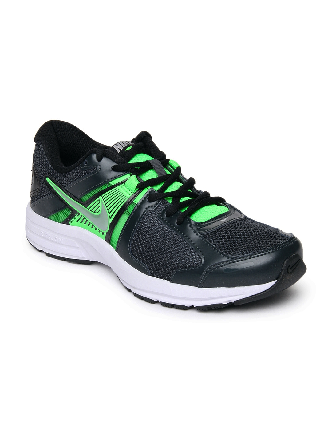 myntra nike black dart 10 msl running shoes 683955