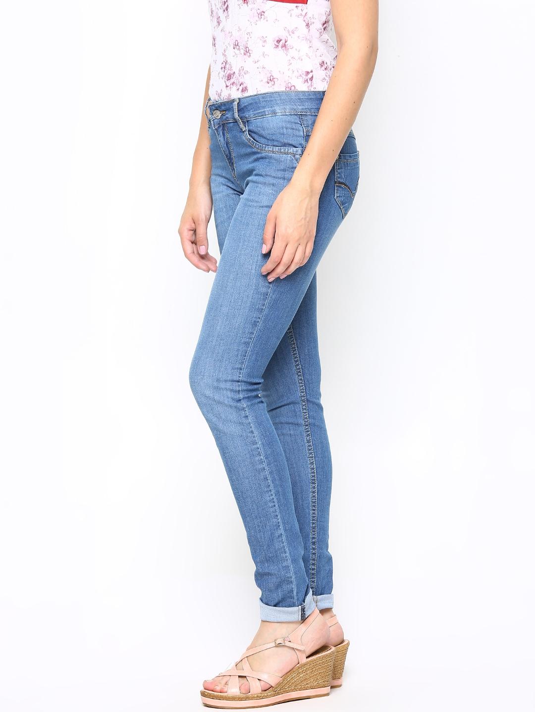 Myntra Kraus Jeans Women Blue Slim Fit Jeans 685427 | Buy ...