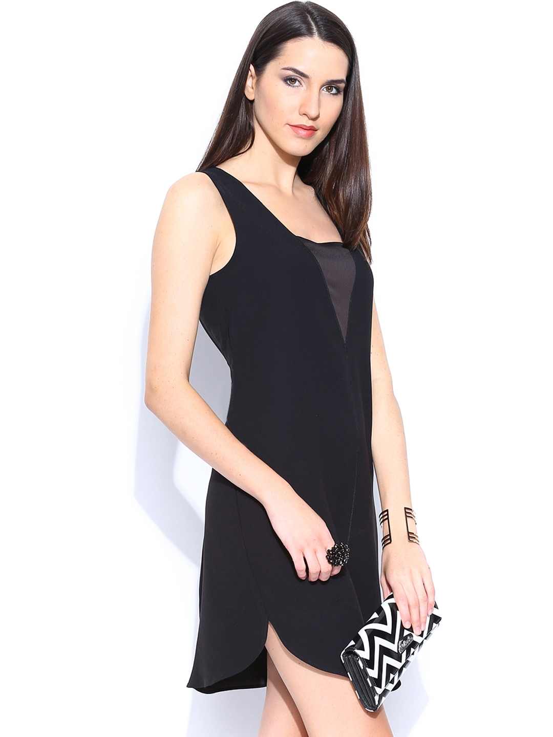 Cool MANGO Mango Pleated Wrap Dress For Women  Dresses Style